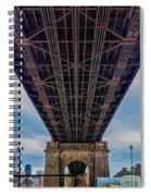Under 59th Street Bridge Spiral Notebook
