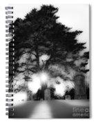Under A Cold Sun Spiral Notebook