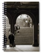 Under Bethesda Terrace Spiral Notebook