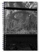 Under Bw Spiral Notebook