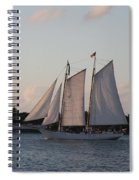 Under Full Sail Spiral Notebook