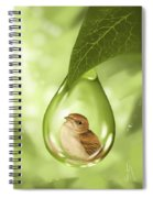 Under Protection Spiral Notebook