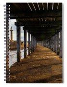 Under-section Below The West Pier Spiral Notebook