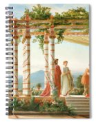 Under The Arbour Spiral Notebook