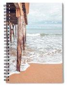 Under The Boardwalk Salsibury Beach Spiral Notebook