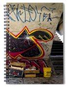 Under The Bridge In Sao Paulo Spiral Notebook