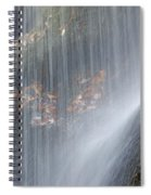 Under The Falls Spiral Notebook