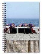 Under The Flag Spiral Notebook