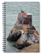 Under The Gg Bridge Spiral Notebook