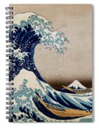 Under The Great Wave Off Kanagawa Spiral Notebook