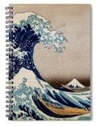 Under The Great Wave Off Kanagawa Spiral Notebook