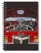Under The Hood Spiral Notebook