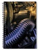 Under The Hood No. 1 Spiral Notebook