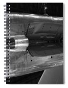 Under The Jet Engine Spiral Notebook