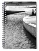 Under The Main Street Bridge Spiral Notebook