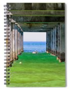 Under The Pier Spiral Notebook