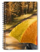 Under The Rain Spiral Notebook