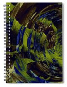 Under The Ripples Spiral Notebook