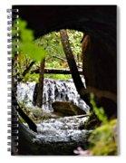 Under The Road Spiral Notebook