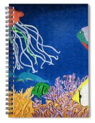 Under The Sea Mural 1 Spiral Notebook