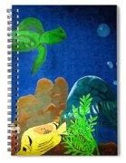Under The Sea Mural 2 Spiral Notebook