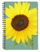 Under The Sunflower's Spell Spiral Notebook