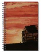 Under The Sunset Spiral Notebook