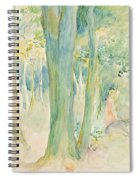 Under The Trees In The Wood Spiral Notebook