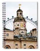Under The Watchful Eye At Horse Guards Spiral Notebook