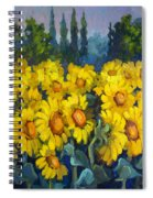 Under Tuscan Sun Spiral Notebook