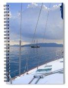 Under Way Spiral Notebook