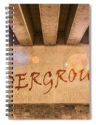 Underground Spiral Notebook