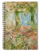 Undergrowth In Autumn Spiral Notebook