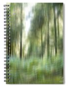 Undergrowth In Spring.  Spiral Notebook