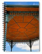 Underneath A French Gazebo Spiral Notebook