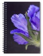 Underneath Spiral Notebook
