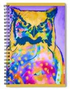 Understated Owl Spiral Notebook