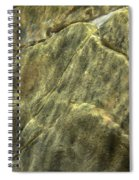 Underwater Abstract Spiral Notebook