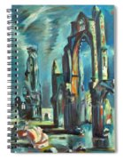 Underwater Cathedral By Chris Spiral Notebook