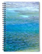 Underwater Colors Spiral Notebook