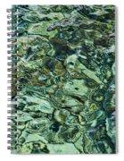 Underwater Rocks - Adriatic Sea Spiral Notebook