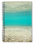 Underwater Sand Beach Spiral Notebook