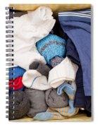 Underwear And Socks Spiral Notebook