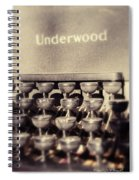 Underwood Spiral Notebook