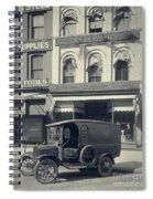 Underwood Typewriter Factory Spiral Notebook