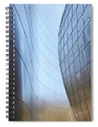 Undulating Steel Spiral Notebook