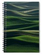 Undulations Spiral Notebook