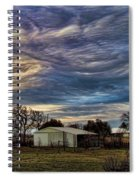Undulatus Asperatus Skies 1 Spiral Notebook