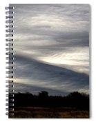 Undulatus Asperatus Skies 2 Spiral Notebook