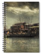 Une Belle Journee Spiral Notebook